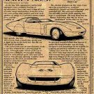 1968 Astro-Vette Show Car Illustrated Series No. 37