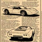 1968 Astro II Mid-Engine Experimental Corvette Illustrated Series No. 36