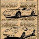1969 Manta Ray Show Car Corvette Illustrated Series No. 38