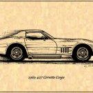 1969 427 Corvette Coupe Profile