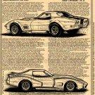 Zora Arkus-Duntov's Mule Corvettes Pt. II Illustrated Series No. 148