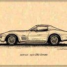 1970-1/2 - 1972 ZR-1 Corvette Profile