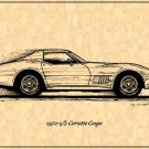 1970-1/2 Corvette Coupe Profile