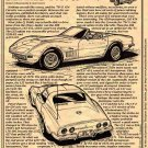 1970-1/2 454 Corvette Illustrated Series No. 45