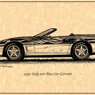 1995 Pace Car Corvette Profile