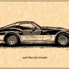 1978 Pace Car Corvette Profile