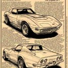 1970-1/2 - 1972 ZR-1 Corvette Illustrated Series No. 132
