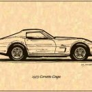 1973 Corvette Coupe Profile