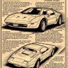 1973 XP-895 All-Aluminum Experimental Corvette Illustrated Series No. 53
