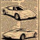 1973 Mid-Engine 4-Rotor Experimental Corvette Illustrated Series No. 52