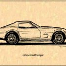 1974 Corvette Coupe Profile