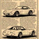 1974 Corvette Illustrated Series No. 54