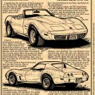 1975 Corvette Illustrated Series No. 56
