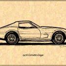 1976 Corvette Coupe Profile