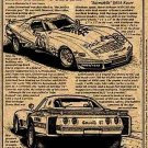 John Greenwood's 1976 IMSA Racing Corvette Illustrated Series No. 58