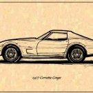 1977 Corvette Coupe Profile