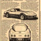 1978 Corvette Illustrated Series No. 60