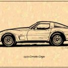 1979 Corvette Coupe Profile