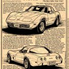 1979 Corvette Illustrated Series No. 62
