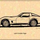 1980 Corvette Coupe Profile