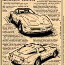 1981 Corvette Illustrated Series No. 64