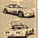 1982 Corvette Illustrated Series No. 65