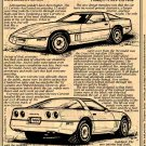 1984 Corvette Illustrated Series No. 68