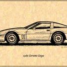 1985 Corvette Coupe Profile