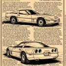 1985 Corvette Illustrated Series No. 69
