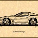 1986 Corvette Coupe Profile