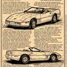 1986 Corvette Illustrated Series No. 70