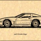 1987 Corvette Coupe Profile