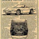 1987 Callaway Corvette Illustrated Series No. 75