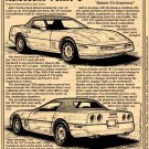 1987 Corvette Illustrated Series No. 71