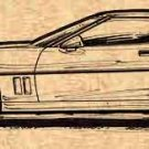 1988 Corvette Coupe Profile