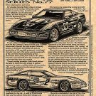 1988-89 Corvette Challenge Racers Illustrated Series No. 77