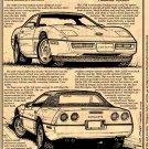1988 Corvette Illustrated Series No. 74