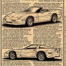 1990 Mears-Shinoda Corvette Illustrated Series No. 87