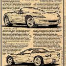 1990 Corvette Sting Ray III Show Car Illustrated Series No. 86