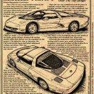 1990 CERV III Corvette Illustrated Series No. 84