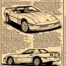 1990 Corvette Illustrated Series No. 81