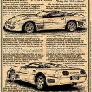 1991 Corvette Callaway Speedster Illustrated Series No. 89