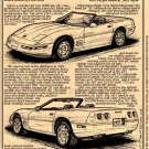 1991 Corvette Illustrated Series No. 88