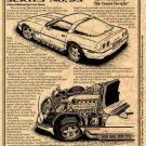 1992 Falconer V-12 Experimental Corvette Illustrated Series No. 93