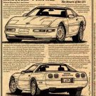 1992 Corvette Illustrated Series No. 92