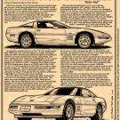 1993 40th Anniversary Corvette Illustrated Series No. 94