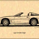 1995 Corvette Coupe Profile