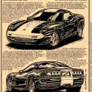 1995 GS90 Corvette Illustrated Series No. 96