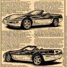 1995 Pace Car Corvette Illustrated Series No. 99