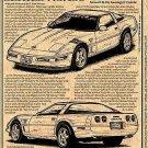 The Last C4 Corvette Illustrated Series No. 102